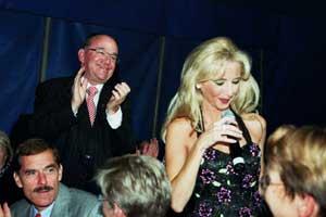 Bilder von der Circus Night 2003: Sonja Cathomen