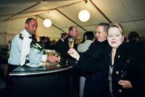 Bilder von der Circus Night 2003: Apéro