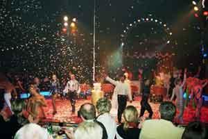 Bilder von der Circus Night 2003: Finale