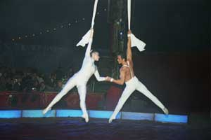 Bilder von der Circus Night 2003: Unterhaltungsshow