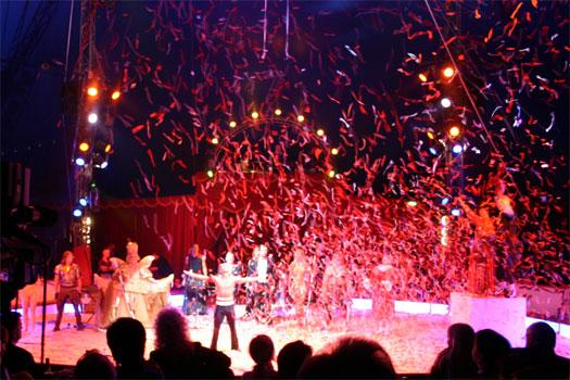 Bilder von der Circus Night 2004: Europapark
