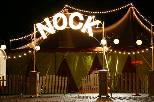 Bilder von der Circus Night 2004: Apéro