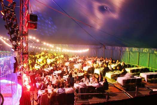 Bilder von der Circus Night 2005: Unterhaltungsprogramm