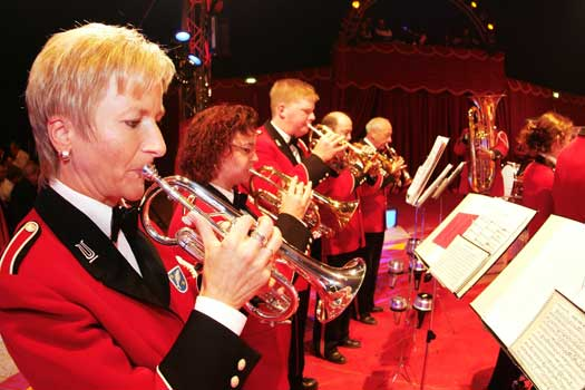 Bilder von der Circus Night 2005: Galaabend