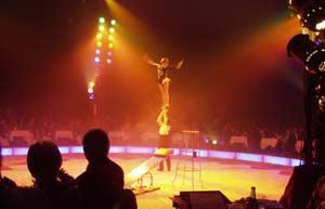 Bilder von der Circus Night 2002: Gala-Night