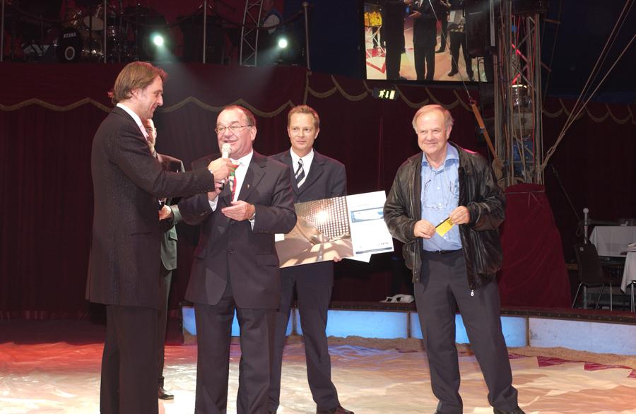 Bilder von der Circus Night 2008: Tombola